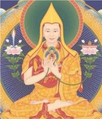 Je Tsongkhapa groß